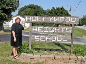Bambi Bethel at Hollywood Heights Elementary School / Photo by Roger Starkey