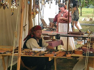 Vendors at Caseyville Frontier Days / Photo by Roger Starkey