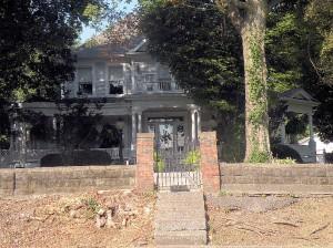 The McClaskey House at 429 Vandalia St. / Photo by Roger Starkey