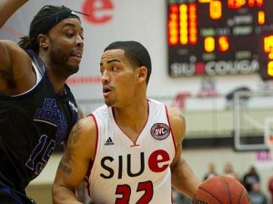 Donivine Stewart / Photo by SIUE Sports Information