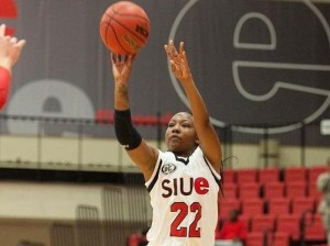 Jazmin Hill / Photo by SIUE Sports Information