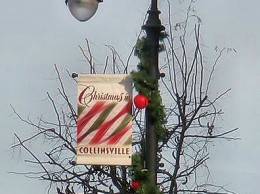 Uptown Collinsville lamp post / Photo by Roger Starkey