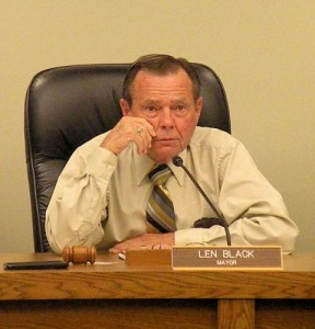 Caseyville Mayor Len Black / Photo by Roger Starkey