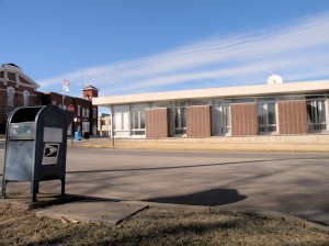 The building that housed the Collinsville post office from 1964 to Jan. 31, 2014 / Photo by Roger Starkey