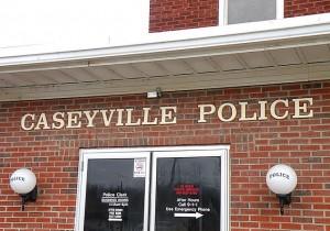 The Caseyville Police station / Photo by Roger Starkey