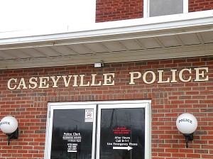 The Caseyville Police station / Photo by Roger Starkey