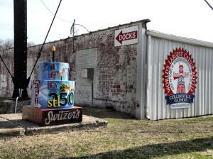 Cakeway to the West at the World's Largest Catsup Bottle / Photo by Roger Starkey