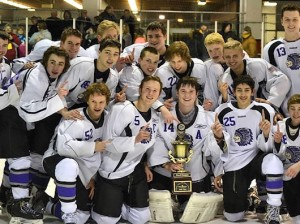 The Collinsville Kahoks hockey team / Submitted photo