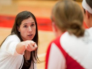 SIUE Head Volleyball Coach Leah Johnson / Photo by SIUE Sports Information