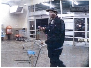 Potential Collinsville wal-mart Thief 1