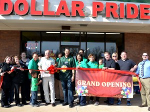 Dollar Pride ribbon cutting ceremony / submitted photo