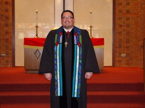Jeff Young, new minister at First United Presbyterian Church of Collinsville
