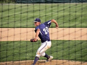 Tanner Houck pitches against Nashville / Photo by John Layton