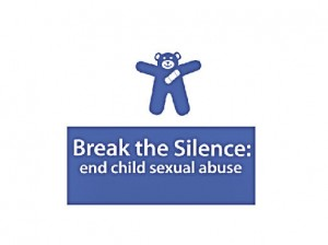Blue Teddy Logo, Break The Silence: End Child Sexual Abuse / image by Kathryn Chan, modified by Roger Starkey