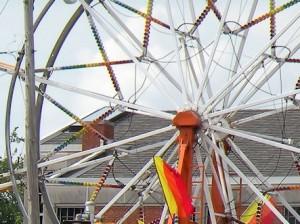 A carnival ride / Photo by Roger Starkey