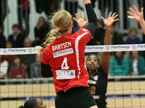 Former CHS volleyball player Michelle Bartsch, who currently plays professionally in Germany / Submitted photo