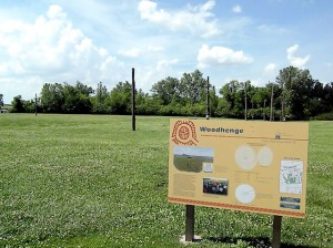 Woodhenge at Cahokia Mounds State Historic Site / Photo by Roger Starkey