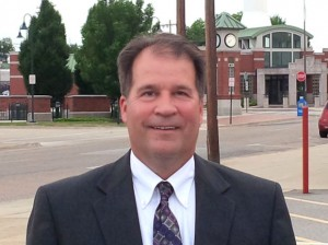 David G. Snider was named principal of Collinsville High School on July 17, 2014 / Photo by Roger Starkey