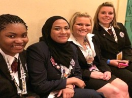 Collinsville Area Vocational Students who qualified for the 2014 Health Occupations Students of America National Leadership Conference / Submitted photo