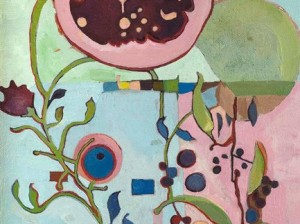 Terri Shay: Pomegranate (Detail)