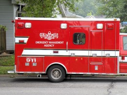 Collinsville Emergency Management Agency vehicle / Photo by Roger Starkey