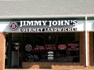Jimmy John's at 501 Beltline Road, Collinsville / Photo by Roger Starkey