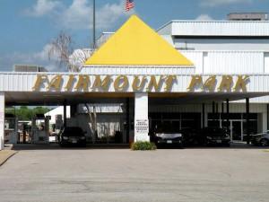 The entrance to Fairmount Park / Photo by Roger Starkey