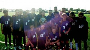 The freshman Kahok soccer team / Submitted photo