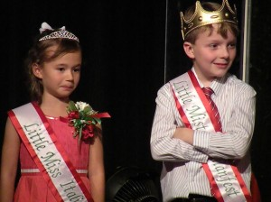 Little Miss and Mister Italian Fest 2014, Gabriella Hill and Andrew Hilmes / Photo by Lexi Cortes