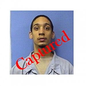 Prison escapee Marcus Battice was captured Sept. 24 at 7:30 a.m.