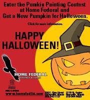 Home Federal Pumpkin Contest