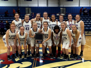 Collinsville Lady Kahoks, 2014 Nashville Tournament champions / Submitted photo
