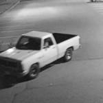 White truck used by Collinsville Aldi purse snatcher